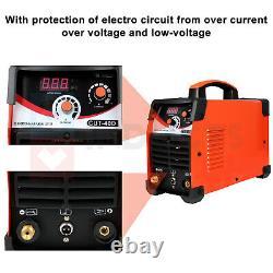 110/220V 40A Plasma Cutter With Built-In Air Compressor Inverter Cutting Machine