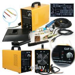 110/220V Dual Volta Digital Inverter CUT50 DC Air Plasma Cutter Cut Machine