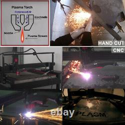 110/230V Dual Voltage 50Amp Pilot Arc Air Plasma Cutter Pro Cutting Machine