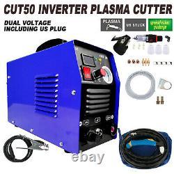 110V/220V CUT50 50AMP Plasma Welding Cutter Digital Cutting Inverter Machine