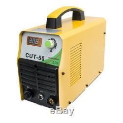 12mm CUT Plasma Cutter 50A IGBT DC Inverter 110V/220V Air Cutting Welders &Torch