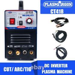 3 in 1 Welder & Cutter Machine Welding 1 to 8mm 40A Cut 180A Weld 110/220V CT418