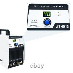 40A Air Inverter Plasma Cutter Dual Voltage 110/220V Max Cut 12mm +LCD display