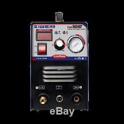 50A CUT-50 Inverter DIGITAL Air Cutting Machine Plasma Cutter 240V & Accessorie