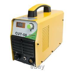 50A CUT-50 Plasma Cutter DC Inverter DIGITAL Air Cutting Machine & Accessories