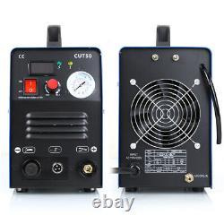 50A CUT50 Inverter DIGITAL Air Plasma Cutter machine 110/220V fit all cut Torch
