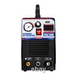 50A IGBT Air Plasma Cutter DC Inverter Cutting Machine 110/220V PLC55X Clean Cut