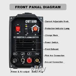 50A Non-touch Pilot Arc Plasma Cutter 110V&220V Digital Inverter Cutting Machine