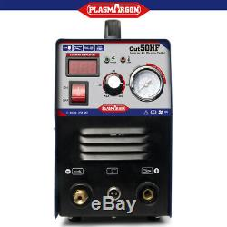 50A Plasma Cutter Machine Inverter Air Pressure Gauge Digital Display Hot Sales