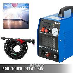 50A Plasma Cutter Non-Touch Pilot Inverter 110/220V DC Portable Cutting Machine