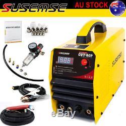 50A Plasma Cutter Pilot ARC Machine Cut50 Inverter Air Pressure Gauge 14mm iN AU