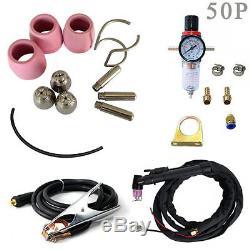 50A Plasma Cutter Pilot Arc 110/220V CNC PLASMA CUTTERS CUT + WSD60p torch hot