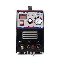 50A Plasma Cutting Machine Pilot Arc 110V/220V CNC Compatible & Accessoires Hot
