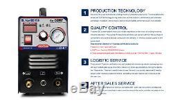 50A Portable Electric Plasma Cutters 110/220V+ HF start plasma cutting CUT50