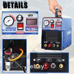 50Amp HF/Pilot Arc Air Plasma Cutter IGBT Cutting Machine 110V 220V Accessories