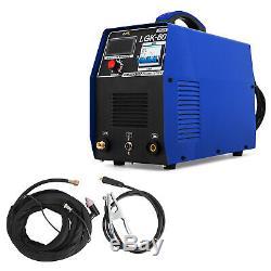 60 Amp Air Plasma Cutter Digital HF Inverter Cutting Machine IGBT Clean Cut 20mm