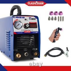 60A Plasma Cutter Inverter Plasma Cutting & AG60 Torch & Consumables 16mm Cutter