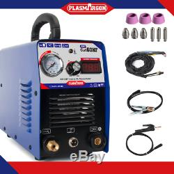 60A plasma cutter 110/220V IGBT plasma cutting 16mm & AG60 Torch & consumables