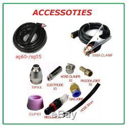 60a Igbt Air Plasma Cutter & Ag60 Torch & Accessories 2019 Plasma Cutting