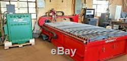 60x120 CNC Plasma Cutter Rated to cut 1/16 to 3 plate