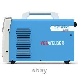 65 A Non-Touch Pilot Arc Digital Plasma Cutter, 110/220V Cutting Machine(Non HF)