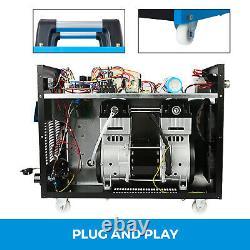 65 Amp Non-Touch Pilot Arc Plasma Cutter Built-In Air Compressor Clean Cut 25mm