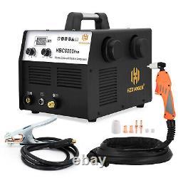 AIR Plasma Cutter 40A 220V IGBT Digital Cutting Machine Built-In Air Compressor