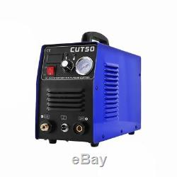 Air Plasma Cutter 50A DC Inverter Cutting 14mm Stock In UK Free Shipping 230v