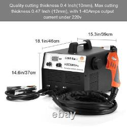 Air Plasma Cutter Built-In Air Compressor Cutting Machine 220V 40A Cut 0.1-10mm