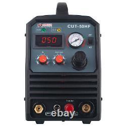 Amico CUT-50HF, 50 Amp Non-touch Pilot Arc Plasma Cutter, 100250V Wide Voltage