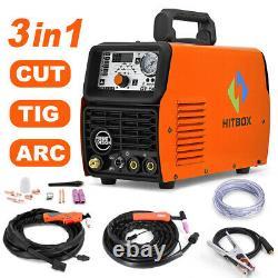 CT520 Multifunction Plasma Welding Machine CUT/TIG/MMA 50A Plasma Cutter 220V