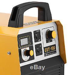 CUT-100 100-Amp Non-Touch Pilot Arc Plasma Cutter Digital Inverter IGBT Cut 35mm