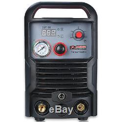 CUT-50, 50 Amp Air Plasma Cutter, 110V & 230V Dual Voltage Cutting Machine New