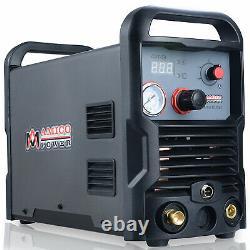 CUT-50, 50 Amp Plasma Cutter, 100-250V Wide Voltag Compact Metal Cutting Machine