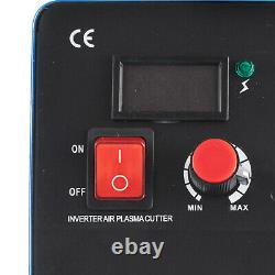 CUT-50 Inverter 50AMP DIGITAL Plasma Cutter machine 110/220V Fit All Cut Torch