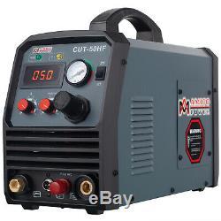 CUT-50HF, 50 Amp Plasma Cutter, Non-touch Pilot Arc, 95V260V, 3/5 in. Clean Cut
