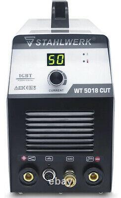 CUT 50a Plasma Cutter Welder Cutting Machine Inverter 110/220V Welding Machine