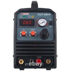 CUT-60HF, 60 Amp Non-touch Pilot Arc Plasma Cutter, 95V260V, 4/5 in. Clean Cut