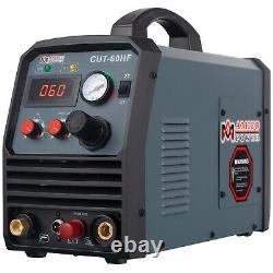 CUT-60HF, 60 Amp Plasma Cutter, Non-touch Pilot Arc, 95V-260V, 4/5 in. Clean Cut