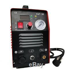 CUT50 50Amp Plasma Cutter Dual 110V/220V Inverter Digital Plasma Welding Machine