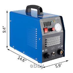 CUT50 Air Plasma Cutter 110V 220V Dual Volt Pilot Arc Cutting Machine Inverter