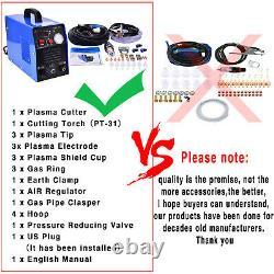 CUT50 Amp Plasma Cutter Dual Voltage 110 220V Cutting Machine Welder IGBT