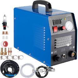 CUT55 Air Plasma Cutter 110V 220V Dual Volt Pilot Arc Cutting Machine Inverter