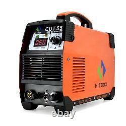 CUT55 Air Plasma Cutters Pilot Arc 110V 220V Dual Volt Inverter Cutting Machine