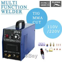 Cut & TIG & MMA Air CT312 Plasma Cutter 3 functions in 1 Combo Welding Machine