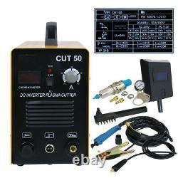 Digital Portable Electric Plasma Cutter Cut50 110/220v Compatible & Accessories