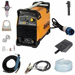 Display4top 230V CUT-50 DC Inverter Plasma Cutter, LCD Display, Save Energy
