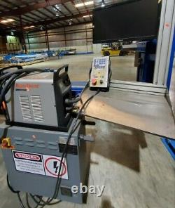 EMI Pipe Cutting Plasma Cnc Cutter Automatic Fish mouthing New In-2017 1-owner