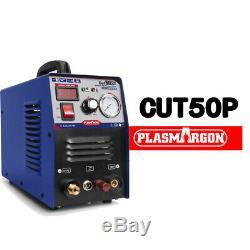 HIGH QUALITY Pilot Arc Plasma Cutter CUT50 50AMP 110/220V Dual Voltage NEW 2019
