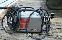 Hypertherm Powermax 30 088000 Plasma Cutter Used Powers on but doesn't Cut